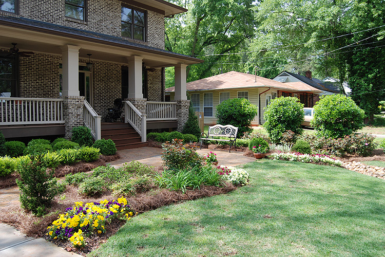 Residential Landscaping Plants : Landscaping services green acres inc