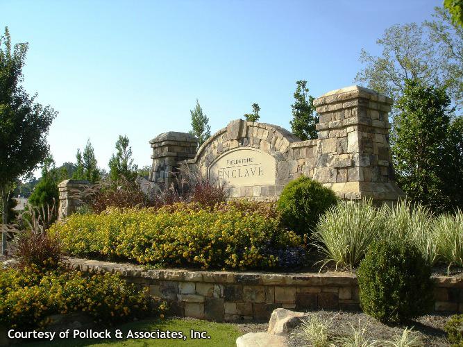 Subdivision Entrance Landscape Designs