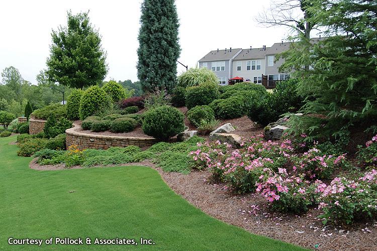 Commercial landscape portfolio green acres landscaping inc for Commercial landscaping